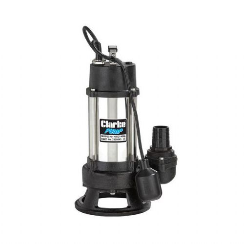 Clarke HSEC1400A 1400W (1HP) Heavy Duty Submersible Cutter Pump 430 Litres/Min 240V~50Hz